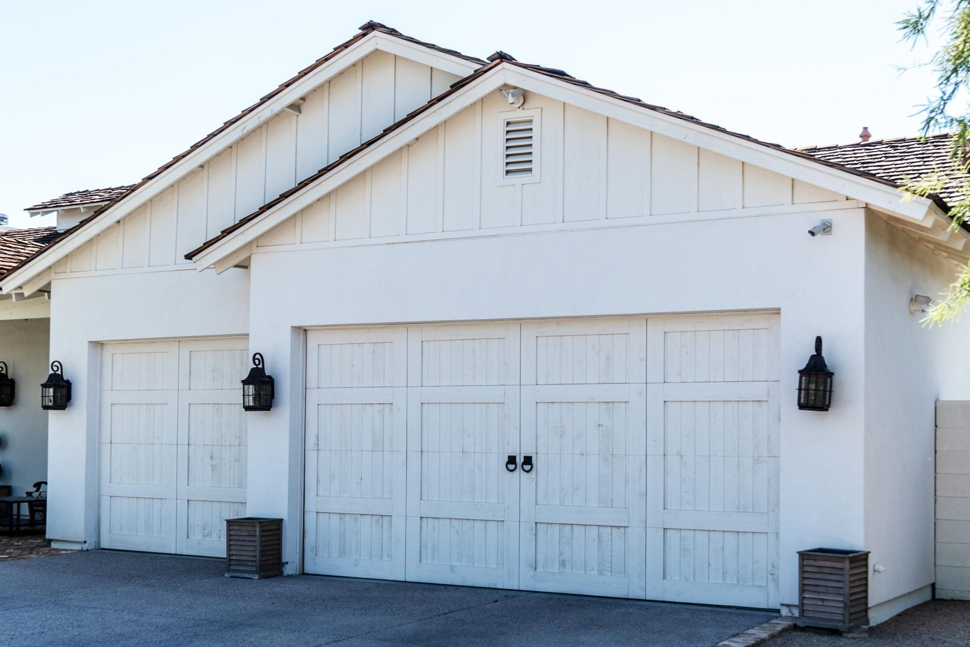 Rajouter un garage a côté de sa maison.
